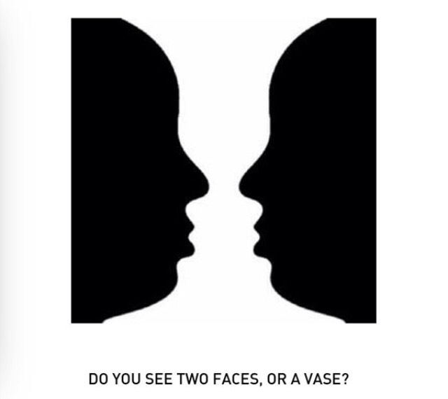 Do You See Two Faces Or A Vace Valentine Ideas Pinterest