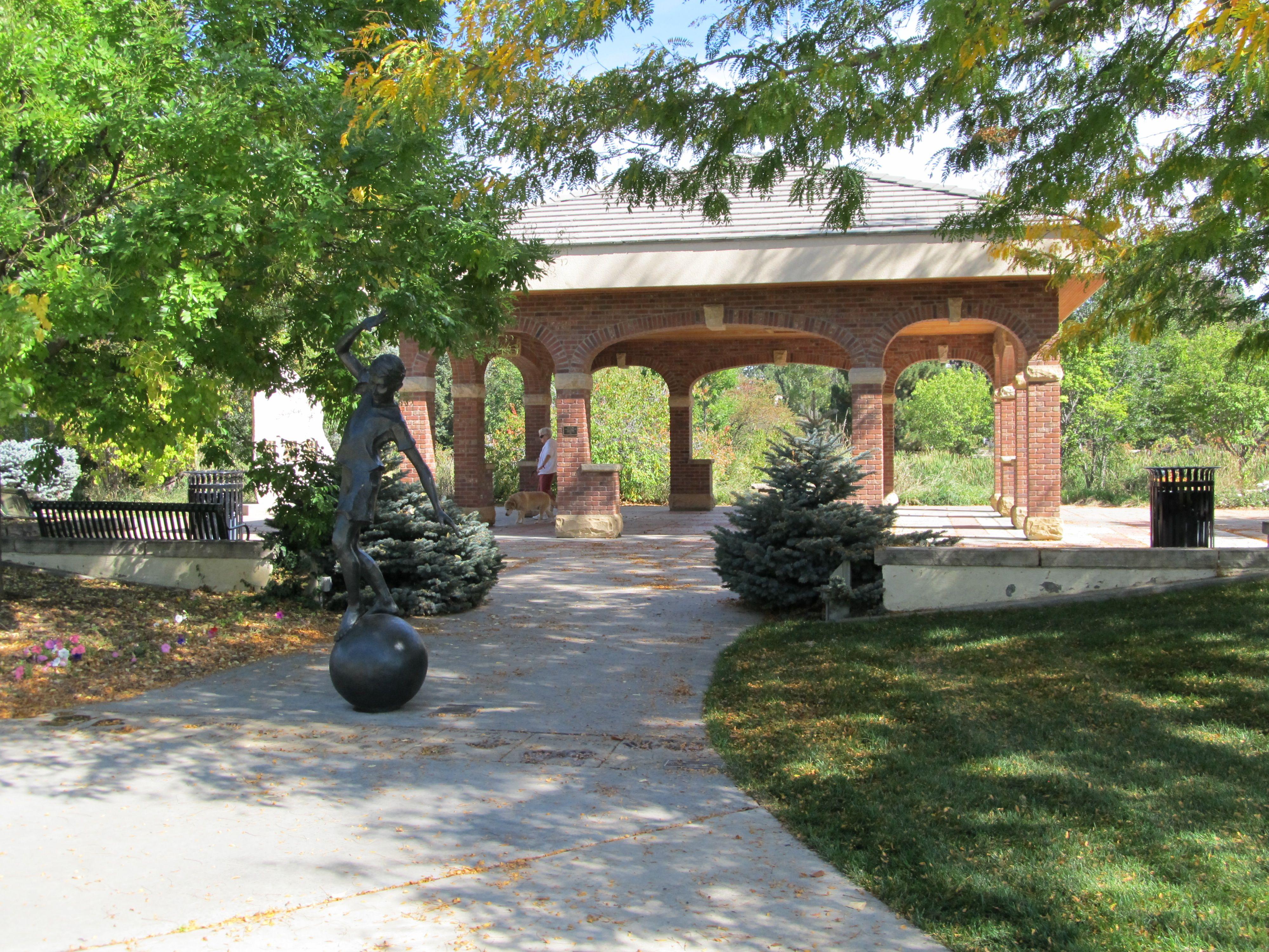 City Of Loveland Co Benson Sculpture Garden Loveland Colorado