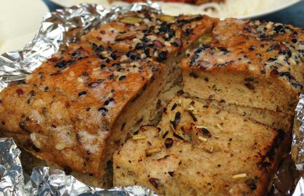 Low-Carb-Garlic-Bread   Low carb recipes, Recipes, Protein ...