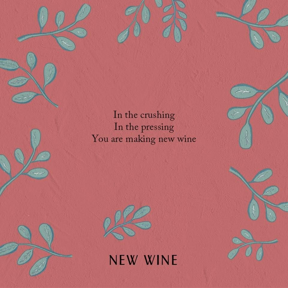 Hillsong Worship Lyrics New Wine There Is More Album Now At Https Hllsng Co Thereismore Worship Lyrics Hillsong Quotes Hillsong Lyrics