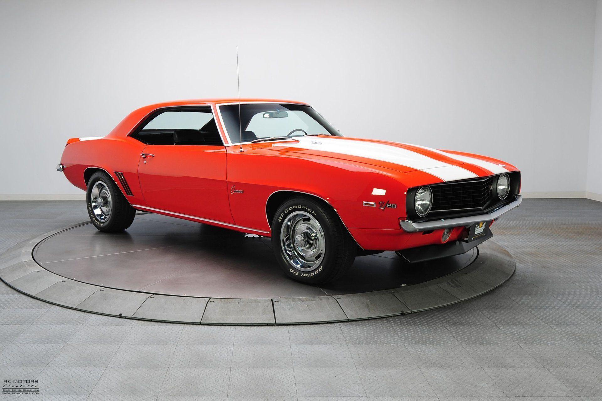 132903 1969 chevrolet camaro rk motors classic cars and