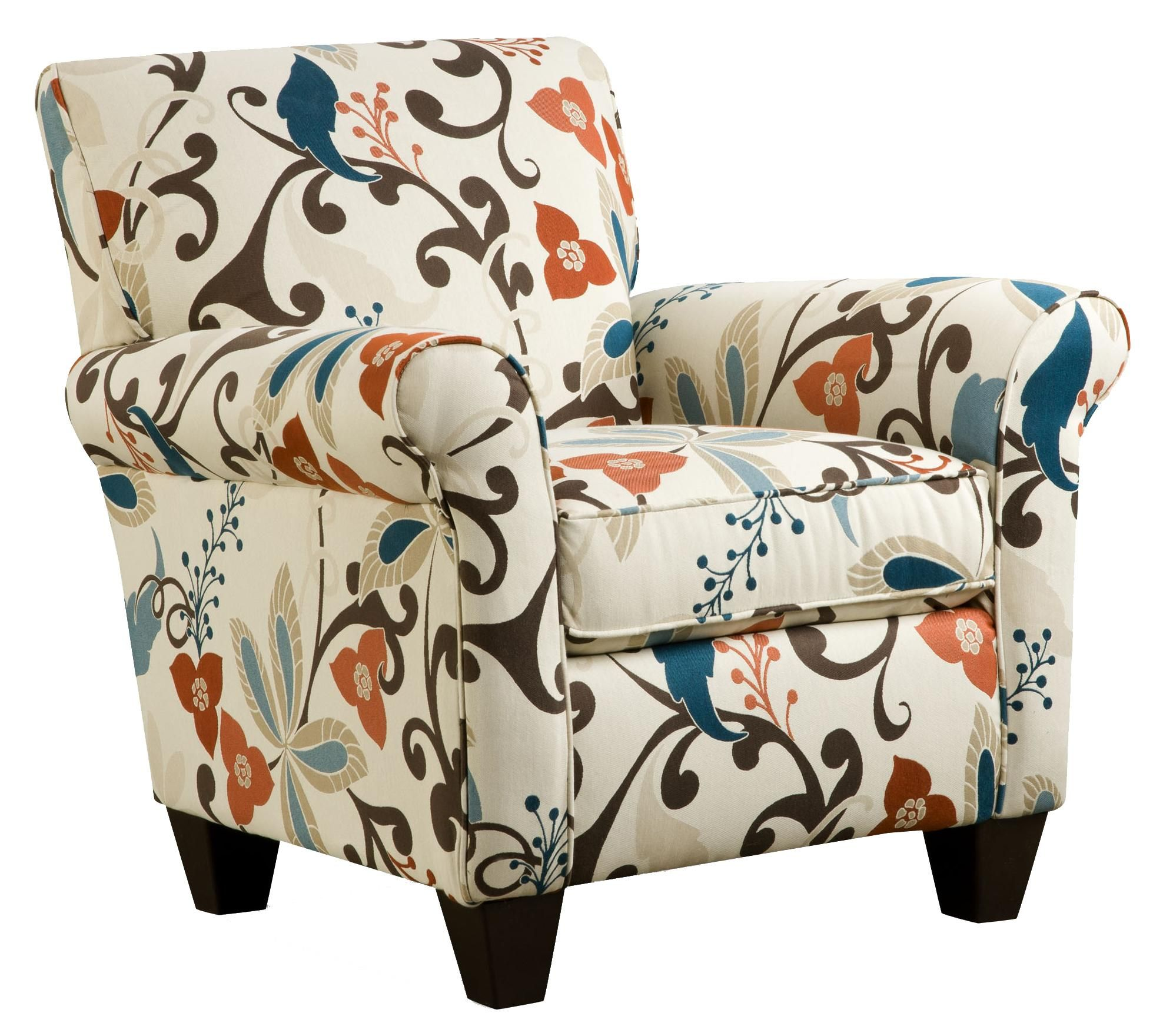 Corinthian 6620 Anika Waterfront Accent Chair Great American Home