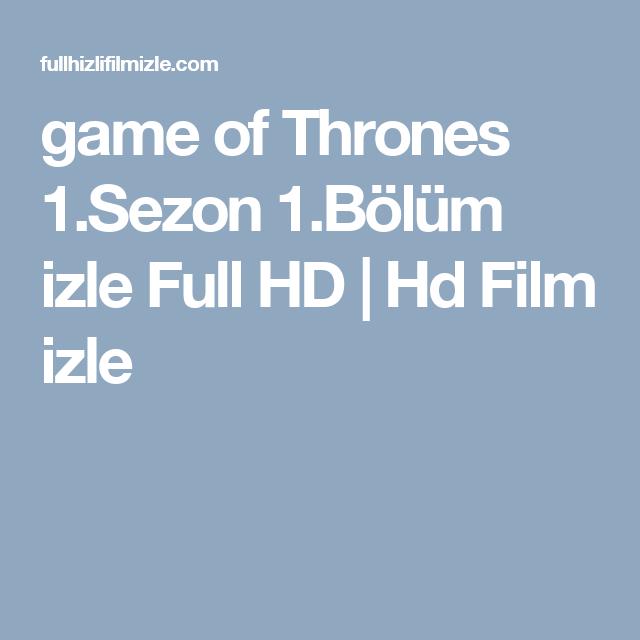 Game Of Thrones 1sezon 1bölüm Izle Full Hd Hd Film Izle Game
