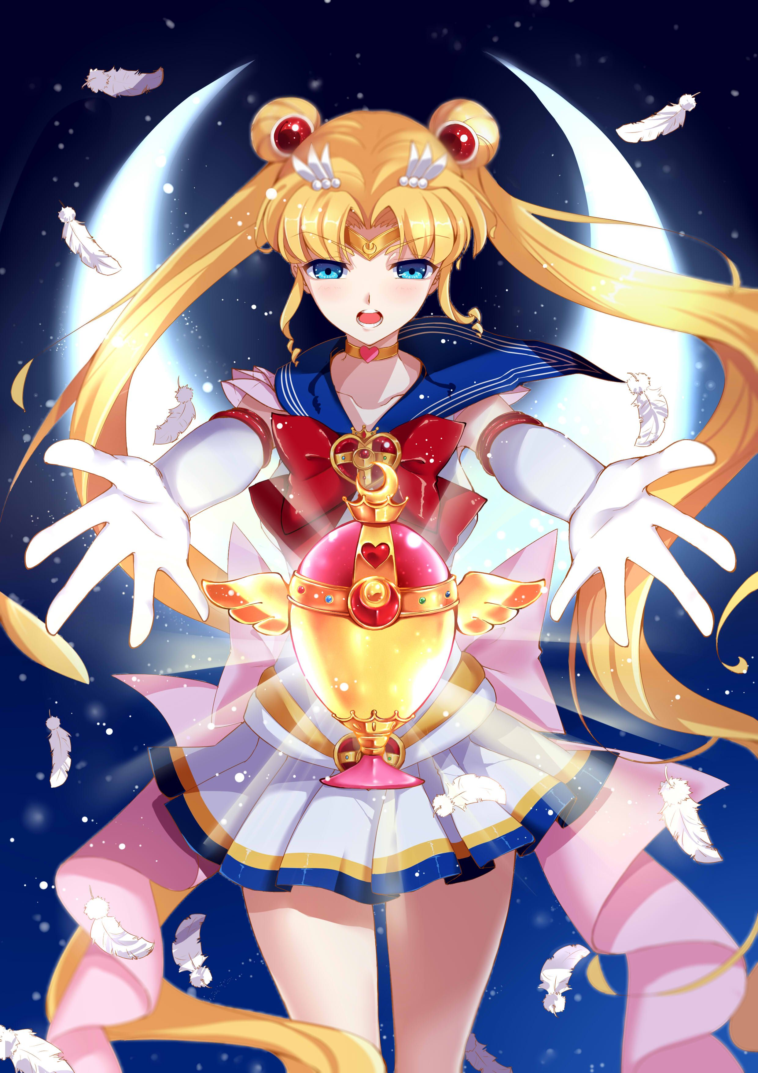 Sailor Moon Super Sailor Moon Usagi Tsukino Sailor Moon Fan Art
