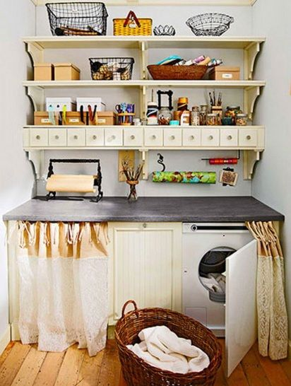 Small Space Organization easy organizing ideas |  laundry organization small room