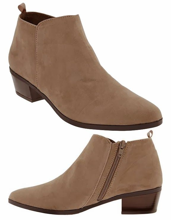 Über Chic for Cheap: Spied: Old Navy Zip Ankle Boots { 15% off ...