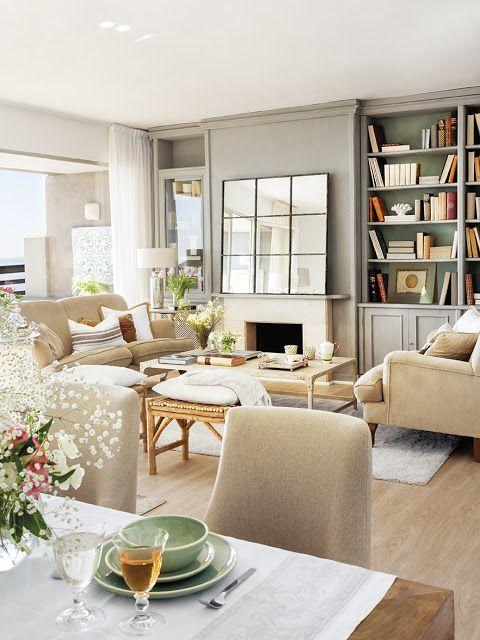 Casa tr s chic living rooms pinterest casas peque as - Spa tres casas ...