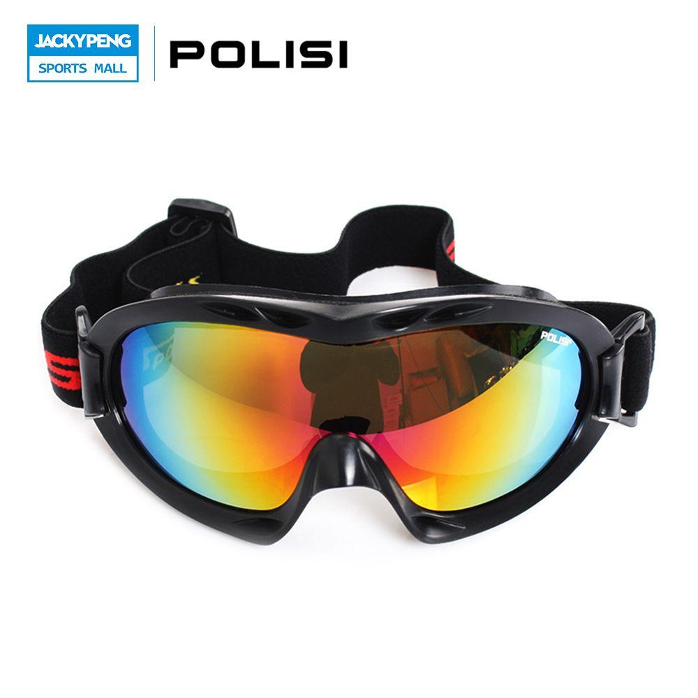 b5e541ebfc85 POLISI Men Women Ski Snow Glasses 100%UVA UVB Protection Winter Motorcycle Skiing  Goggles