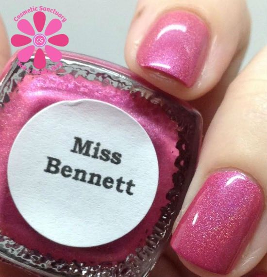 Totally loving Miss Bennet by Literary Lacquers, as swatched by Cosmetic Sanctuary! #literarylacquers #gloss48 @gloss48