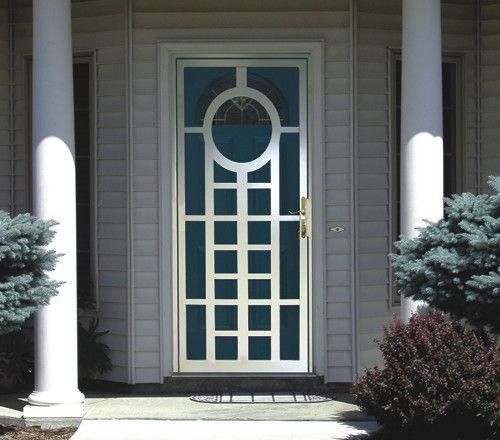 Mid Century Modern Security Door for DesignEX Security Doors and