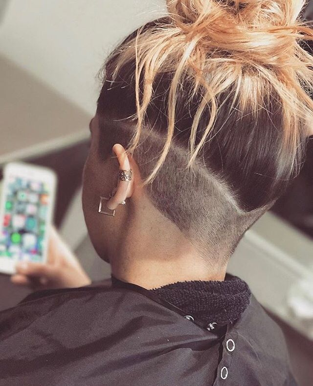 V Shaped 360 Undercut By Hairbyvern Adorable Idea In 2019