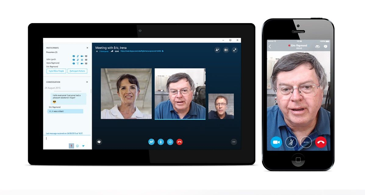 Microsoft Launches Skype Meetings for Browser-Based