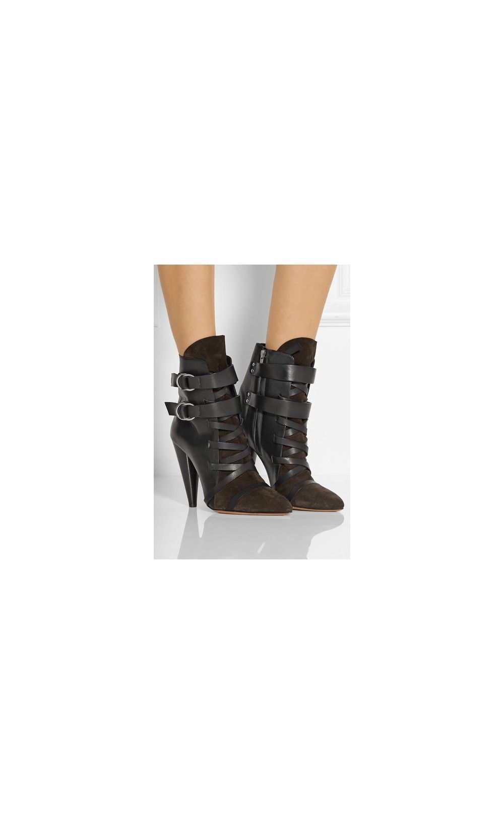 076b82ad301 Isabel Marant Royston Suede And Leather Ankle Boots - Isabel Marant  #TravelTuesday #inspiration