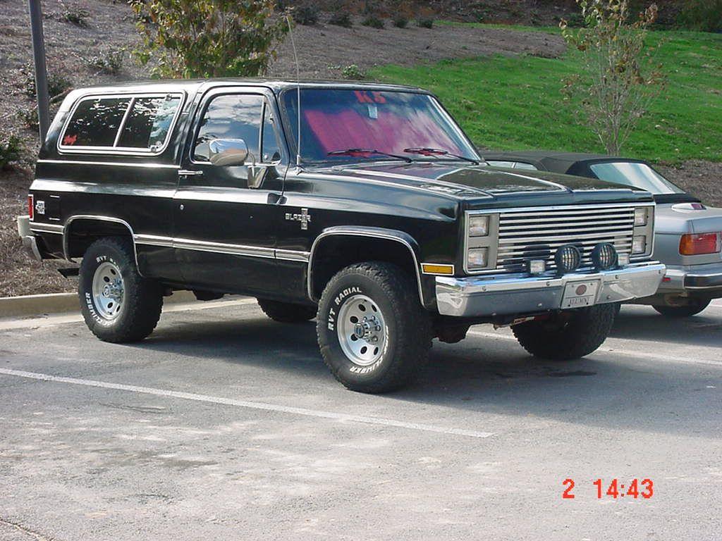 Jeff 1985 Chevrolet K5 Blazer