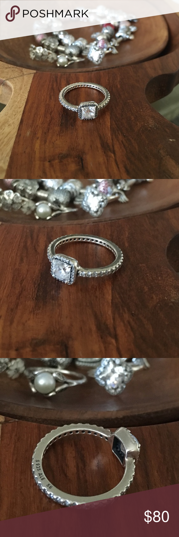 4bf79d7f5 Pandora Ring size 56 Pandora Timeless Elegance Ring 56 which is a size  7.5-8 Pandora Jewelry Rings