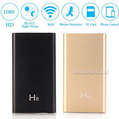 ﹩3619 H8 WIFI Wireless HD 1080P DV IP Mini SPY Hidden Camera - bank application