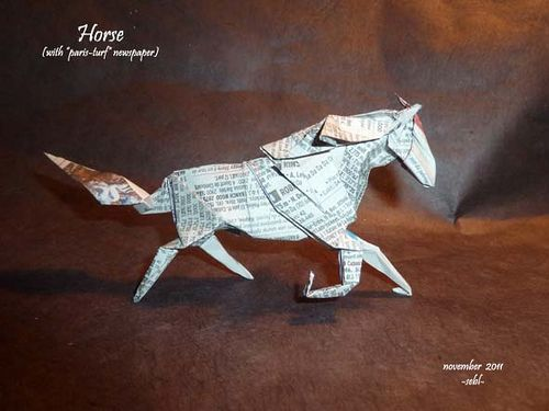 Money Origami Horse Instructions