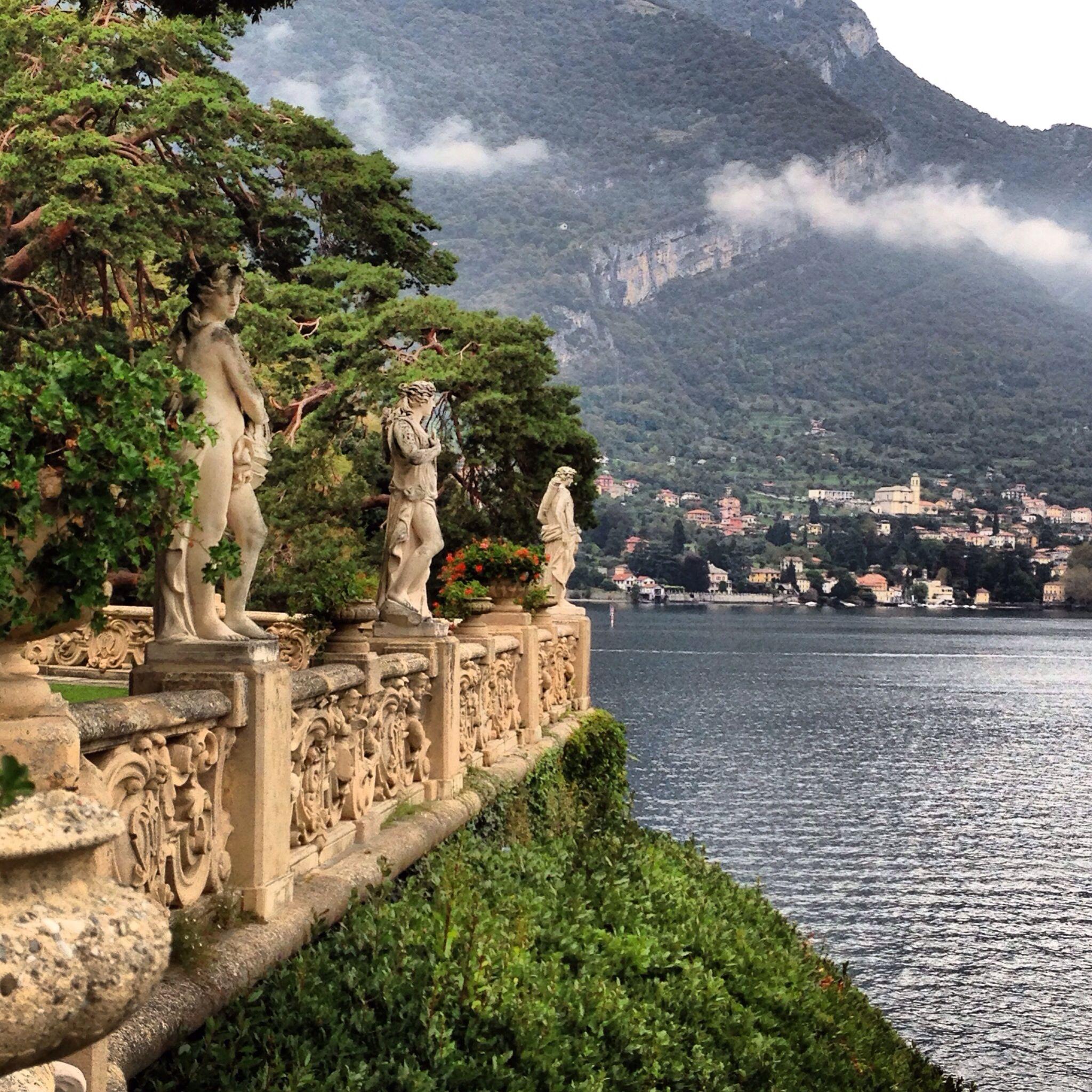 Villa Balbianello, Como Lake Italy Houses
