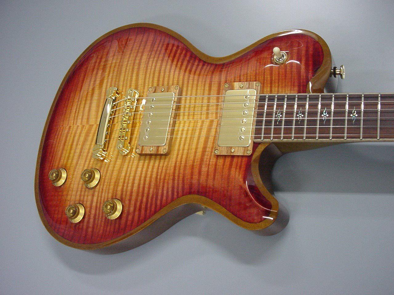 Fgn Fujigen Virtuoso Flame Fl Guitar In Sunrise Burst Cool Guitar Electric Guitar Guitar