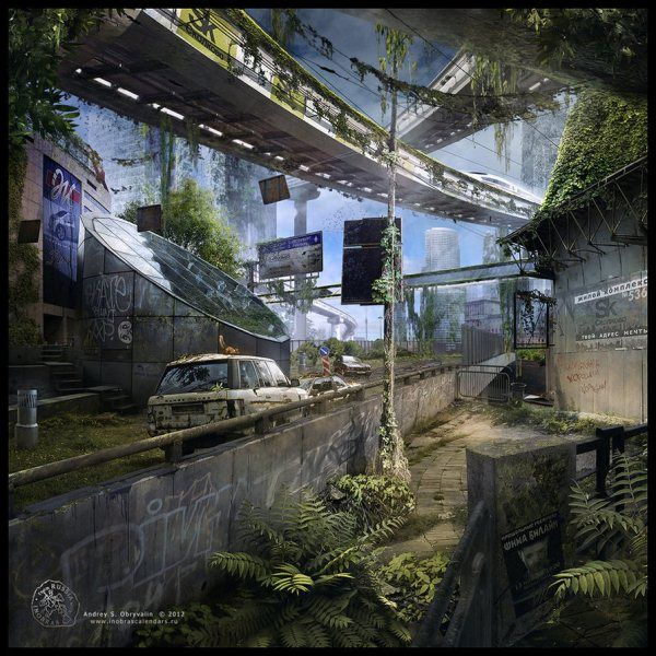 Digital Landscapes By Andrey S