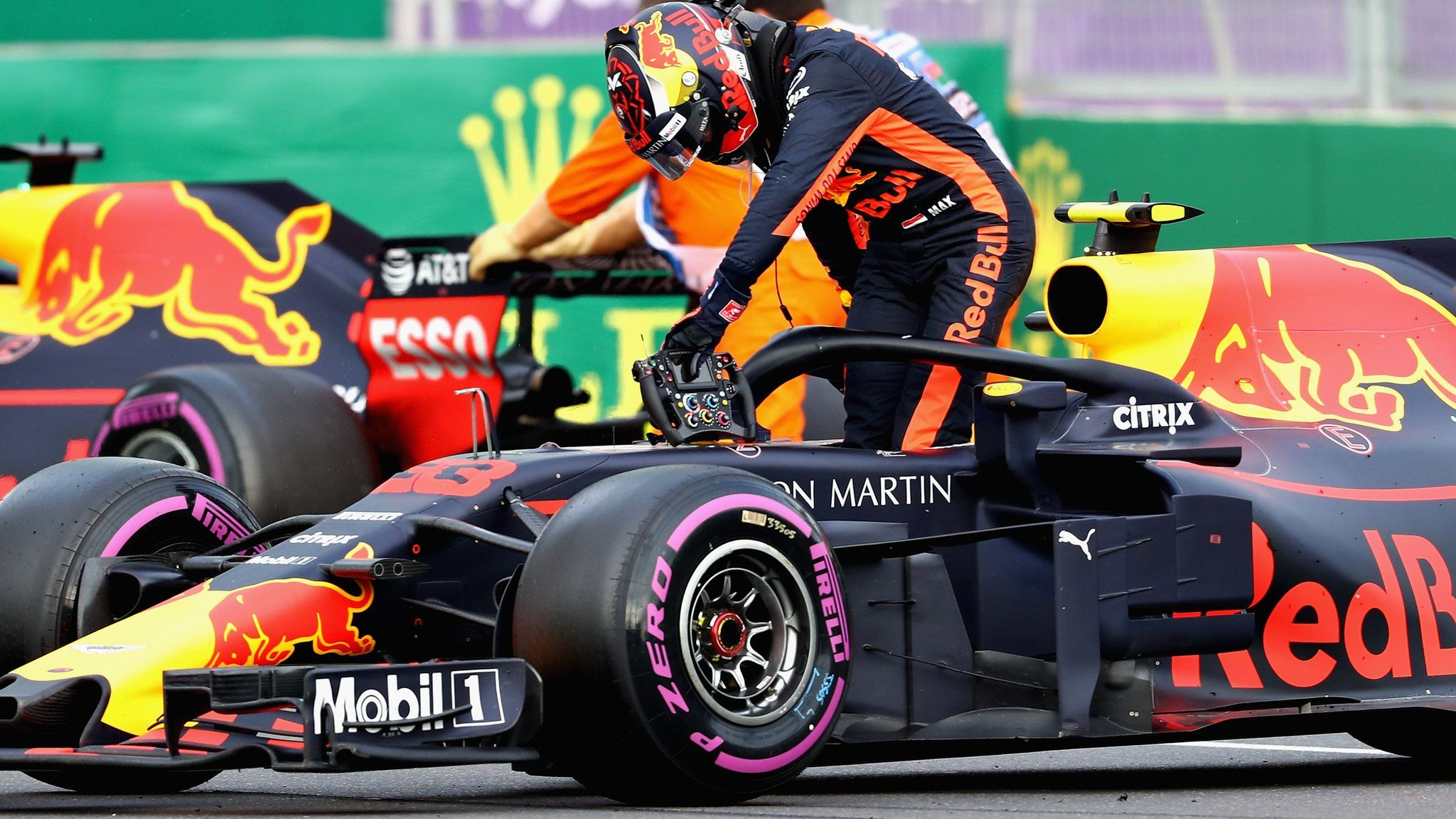 Azerbaijan Grand Prix Red Bull crash 'unacceptable', says