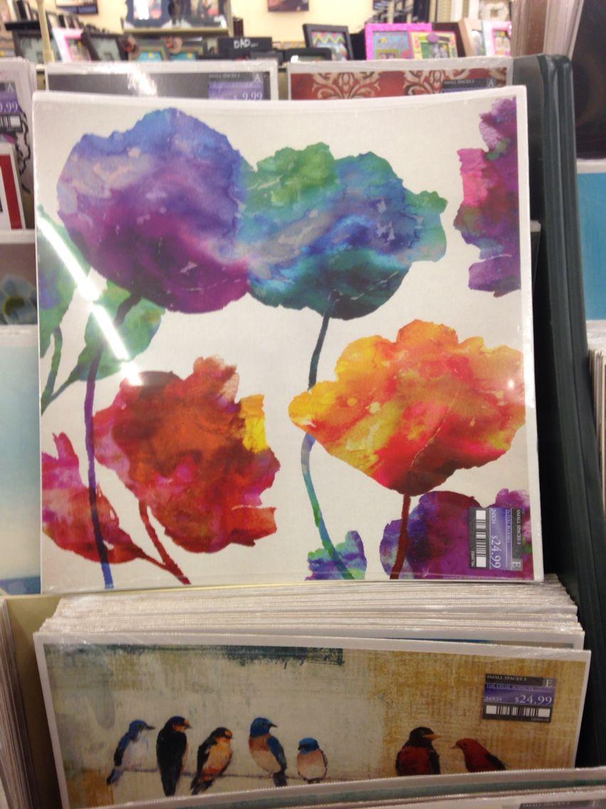 Hobby Lobby Watercolor Repaint Painting Art Wall Art