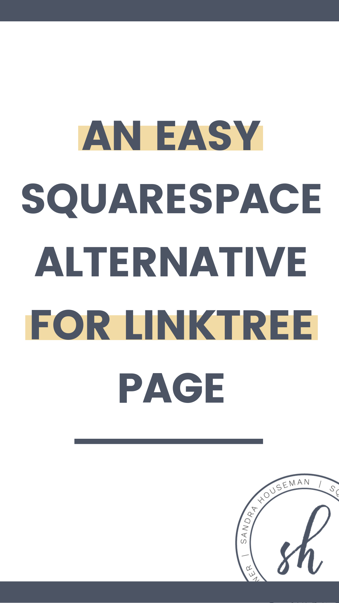 Easy DIY alternative for Instagram Linktree page (With