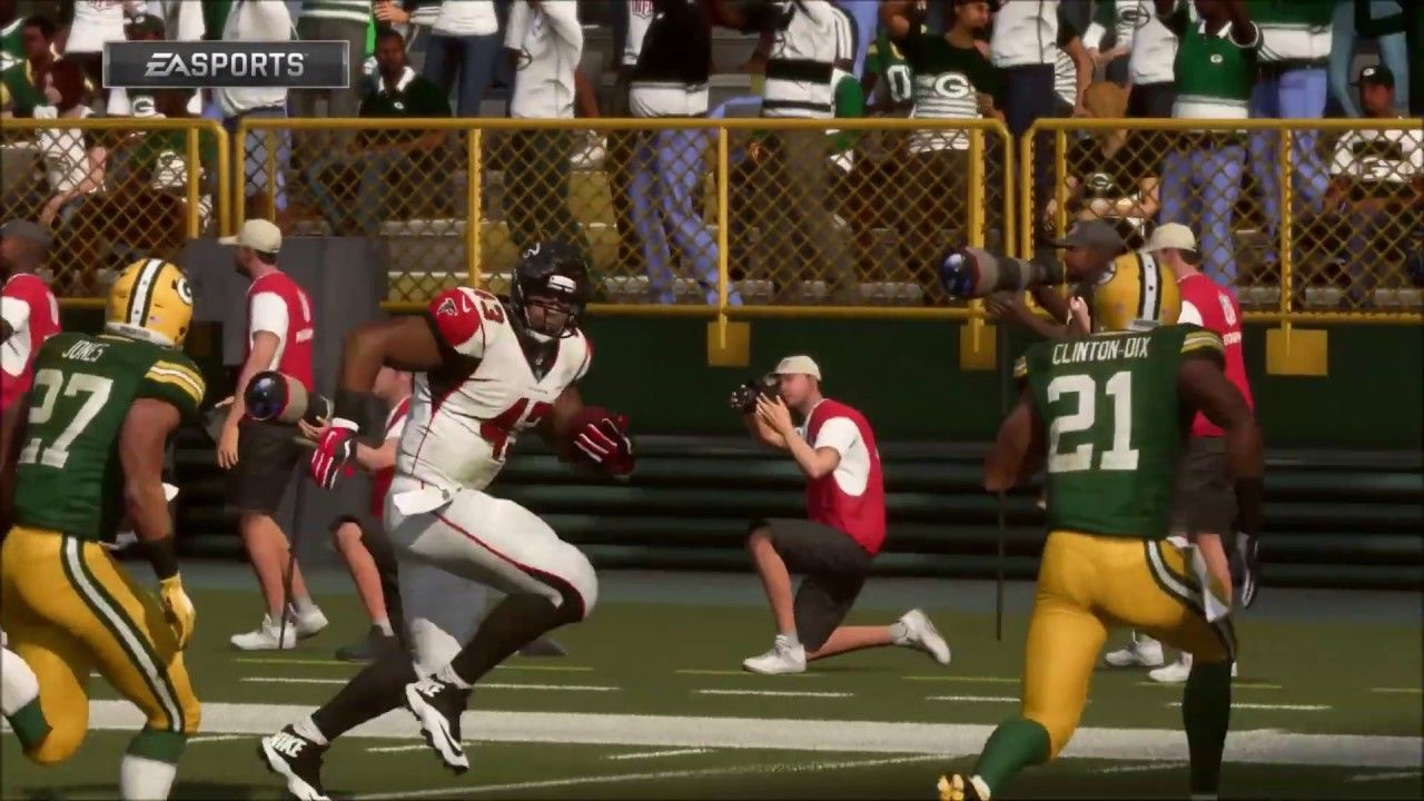 Madden Nfl 19 Franchise Mode Week 14 Episode 17 Atlanta Falcons Vs Packers Madden Nfl Nfl Atlanta Falcons
