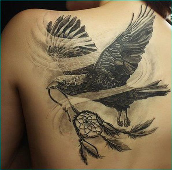 30 striking raven tattoos with deep meanings 30 striking raven tattoos with deep meanings. Black Bedroom Furniture Sets. Home Design Ideas