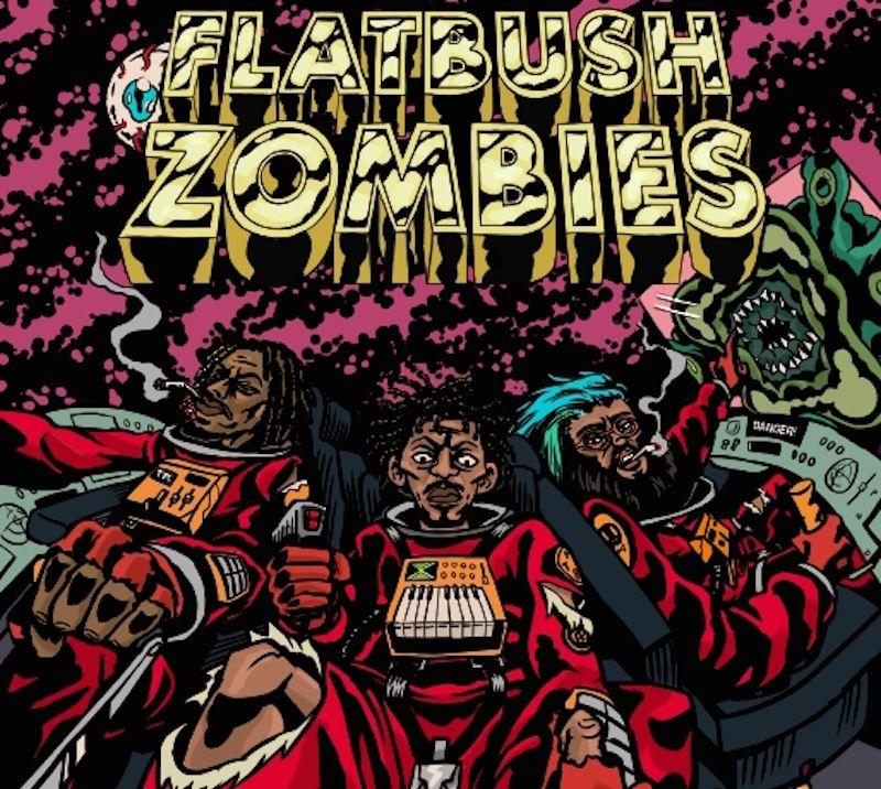 Flatbush Zombies 3001 A Laced Odyssey Tour 2016 Best