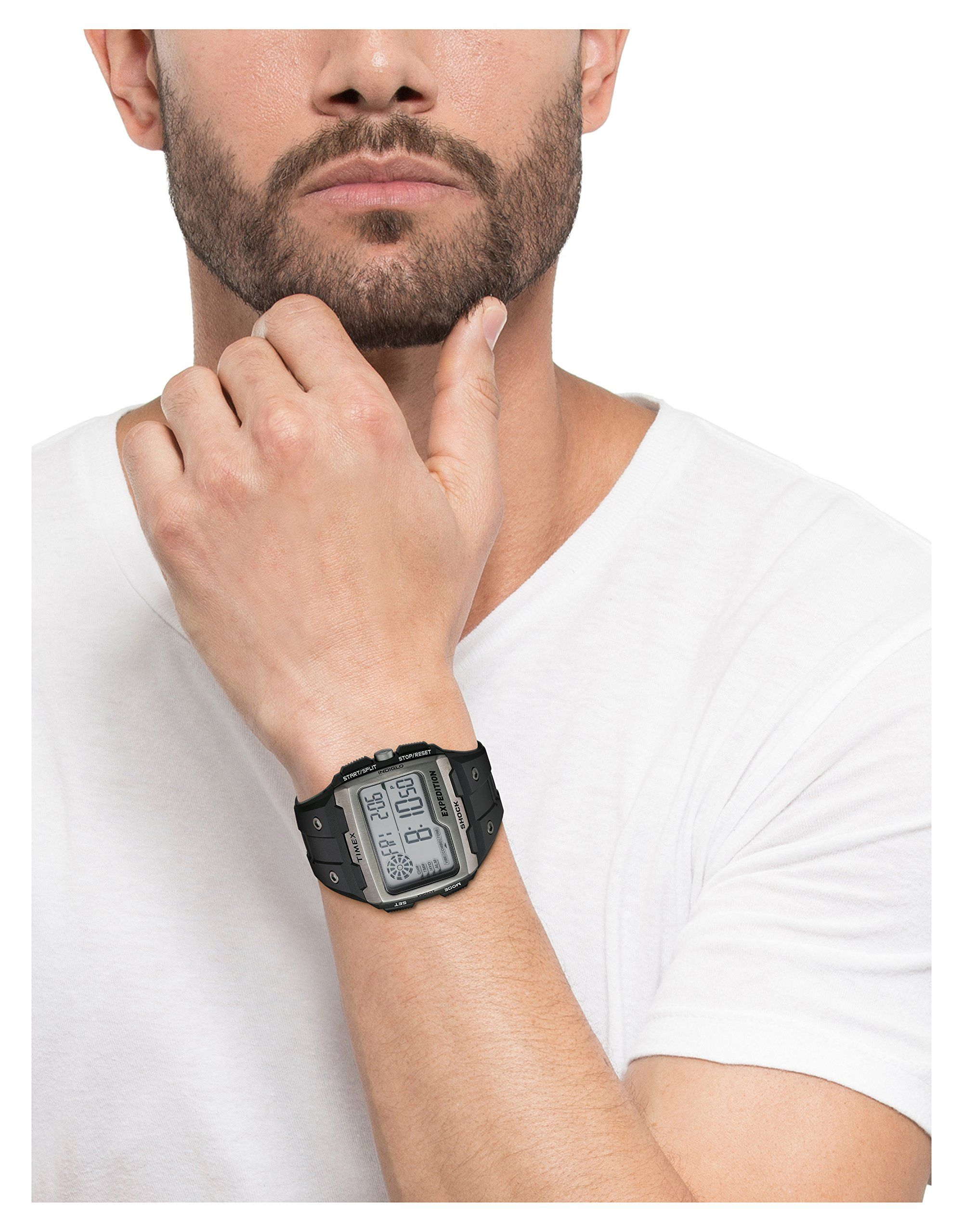 794525df21ca Timex Mens TW4B02500 Expedition Grid Shock Black Resin Strap Watch    You  can find more details by visiting the image link.(It is Amazon affiliate  link)   ...