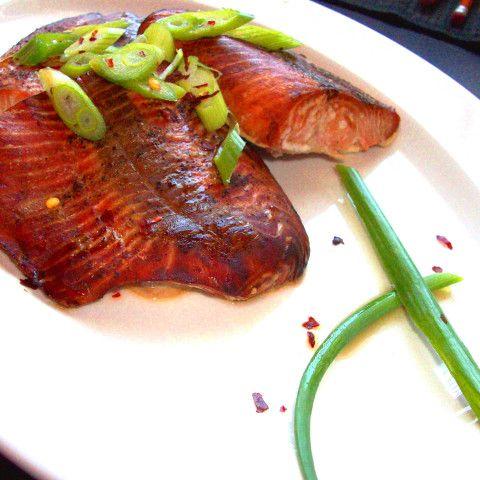 Simple Salmon Teriyaki #salmonteriyaki