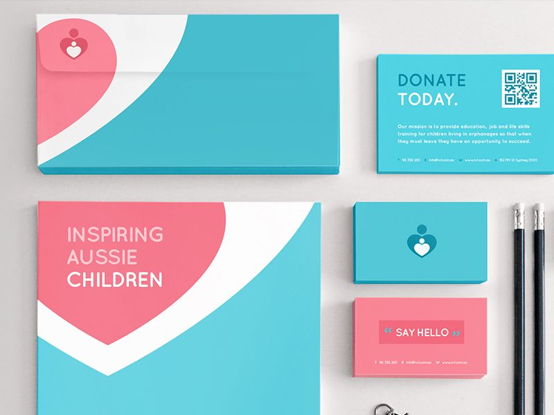 Ivf Stationery | Stationery design, Brand identity and Stationary design