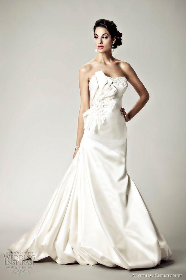 Marvelous Matthew Christopher Wedding Dresses 2012