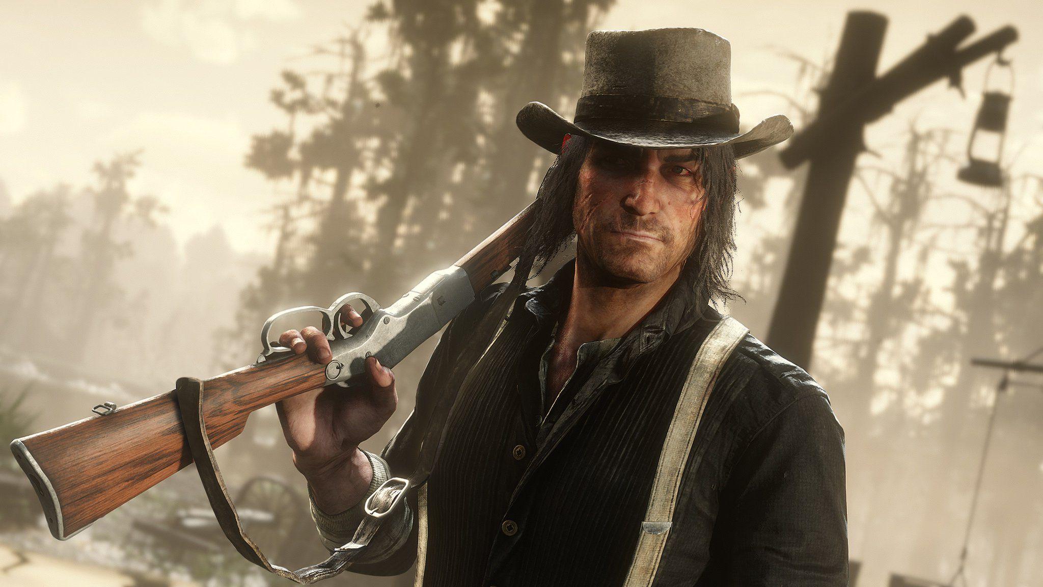 Rdr 2 John Marston Videojuegos Red Dead Redemption Y