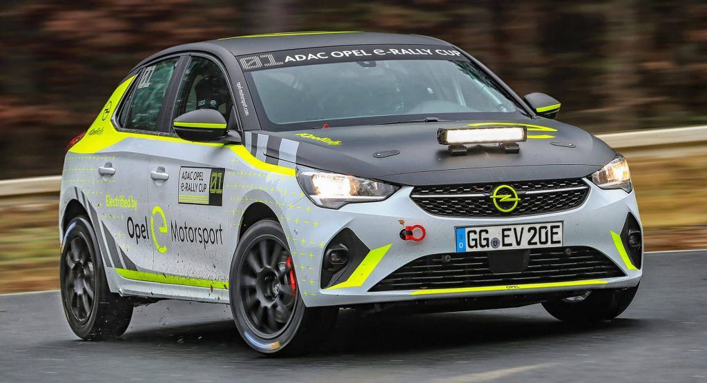 Opel Readying Corsa-e Electric Rally Car For Private Customers