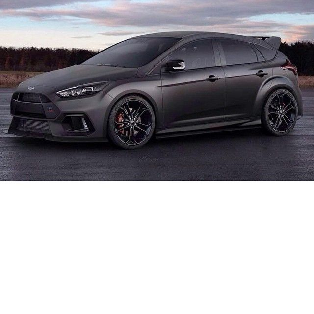 Yo Fordperformance Take Note Of This 2016 Focus Rs Fan Mockup Ha This One Looks To Be Inspired By The Rare And V Ford Focus Hatchback Ford Focus Focus Rs