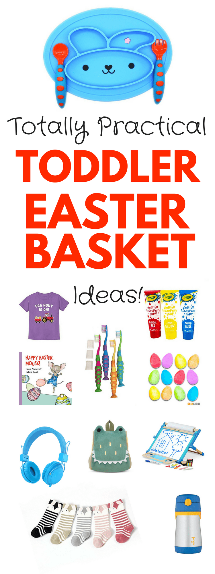 25 Non Candy Easter Basket Ideas For Toddlers That Are Totally Practical Kids Easter Basket Easter Baskets For Toddlers Easter Baskets
