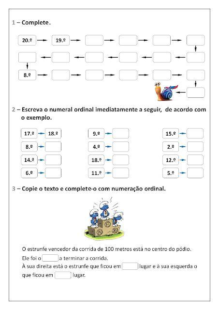 Pin Em Atividade De Matematica
