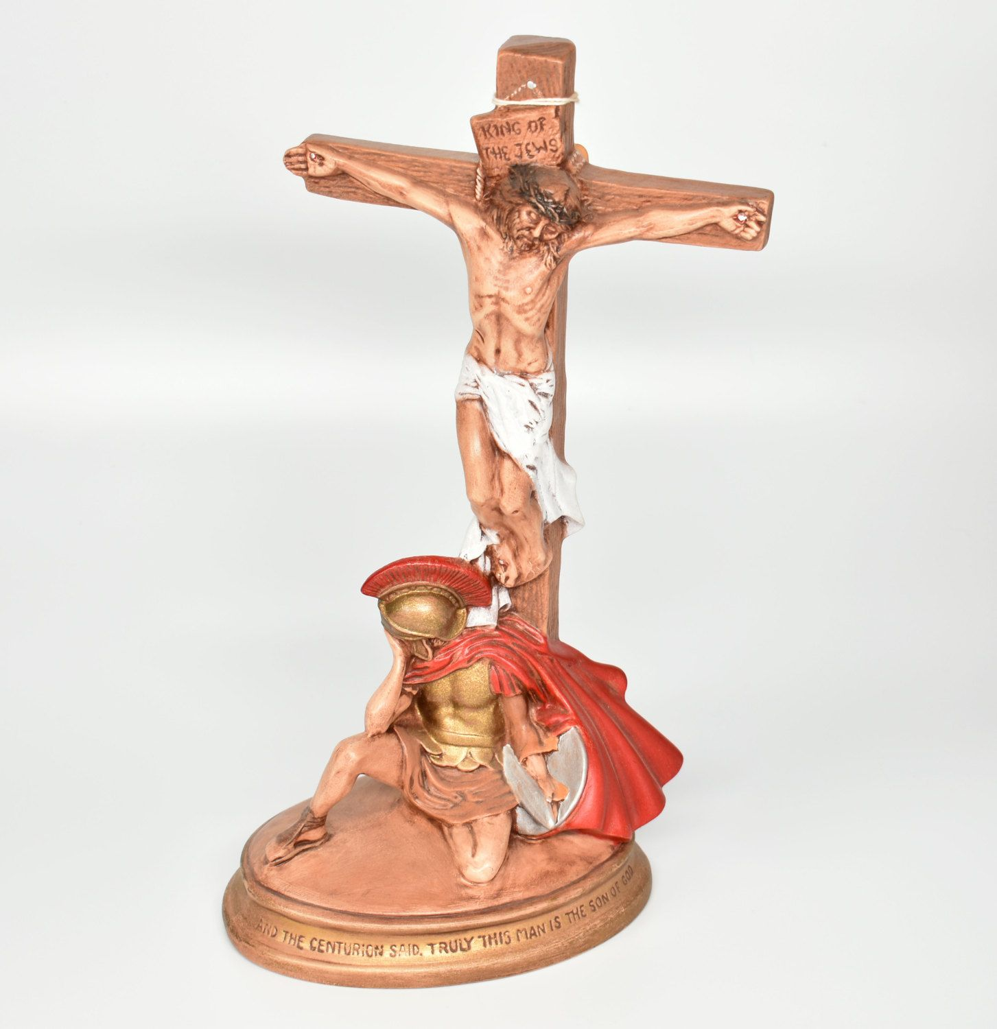 Image result for centurion cross jesus