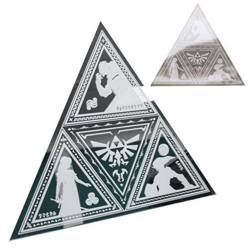 The Legend of Zelda Tri-Force Mirror - Paladone Products - Legend of Zelda - Mirrors at Entertainment Earth