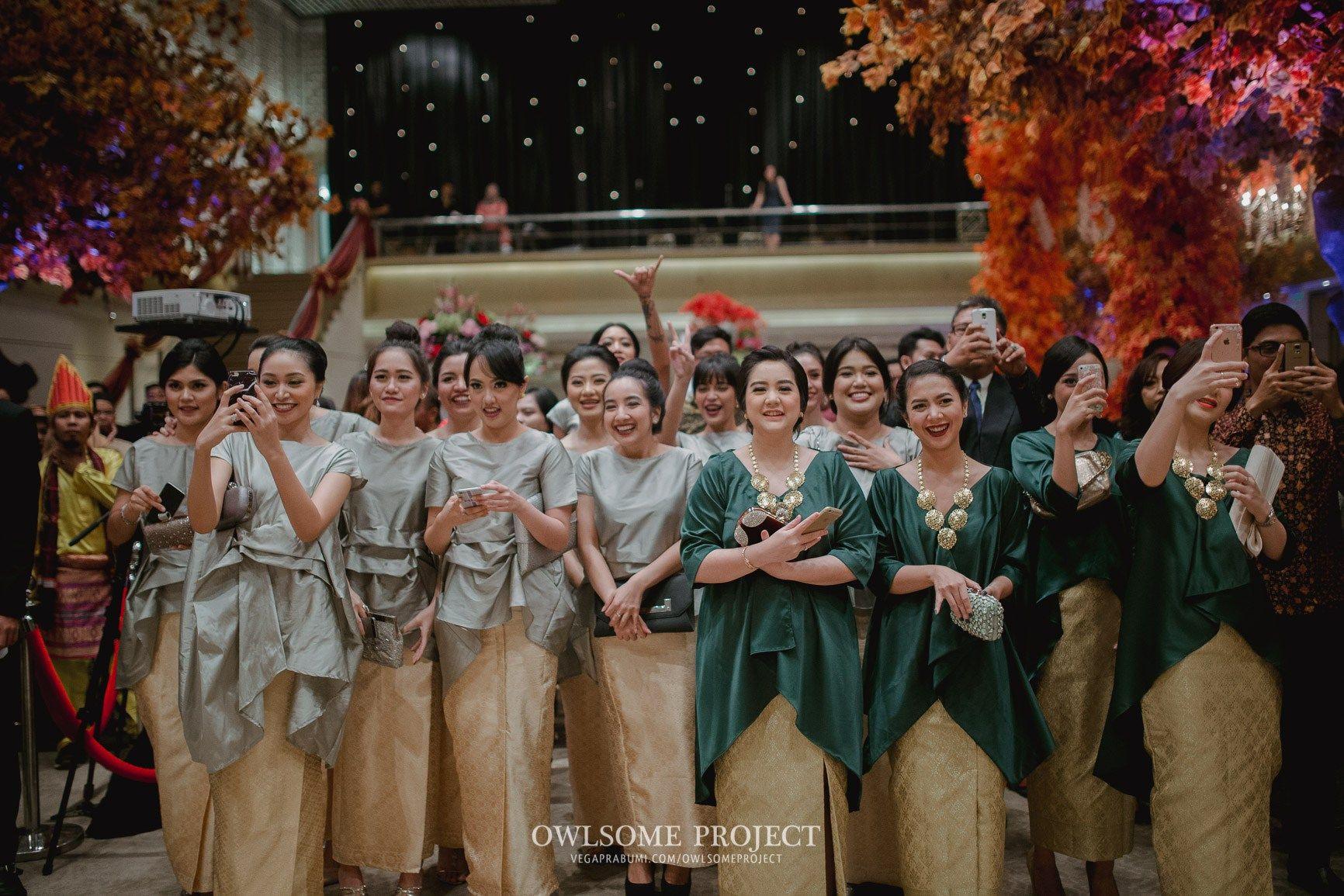 Pernikahan adat Sunda dan Tapanuli ala Cilla dan Yamani owlsome 191 of 270