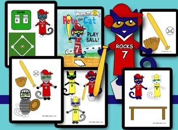 Pete The Cat Play Ball Cat Playing Pete The Cat Play Ball