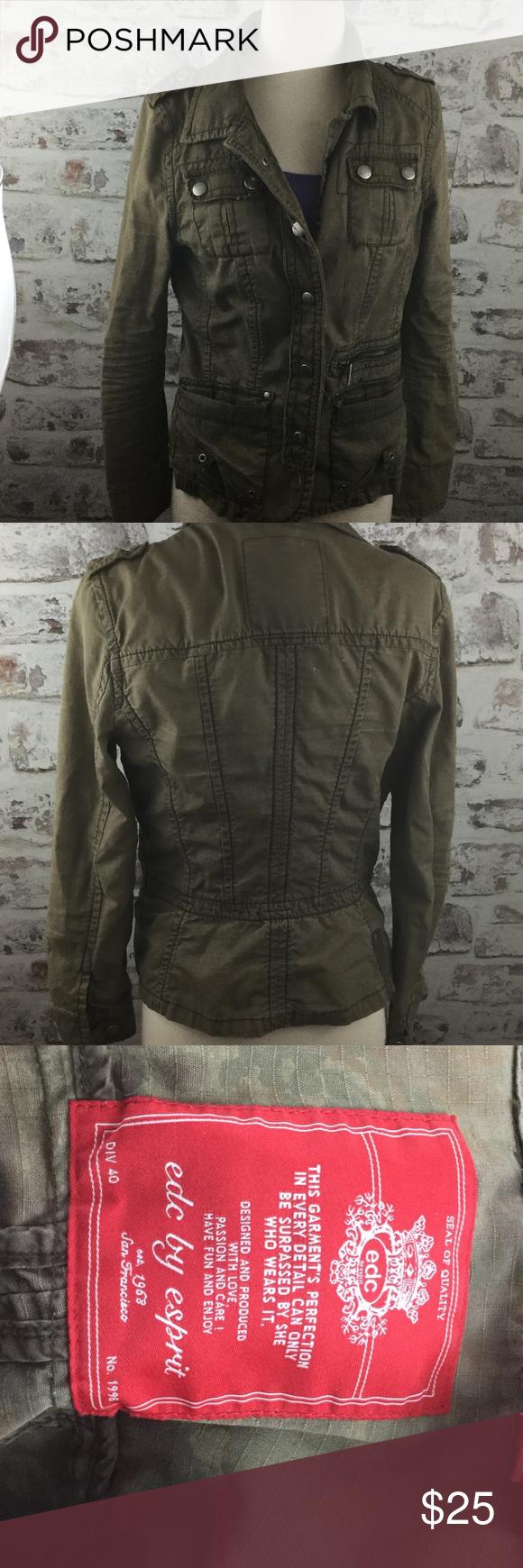 Army Jacket From Espirit Army Jacket Jackets Clothes Design [ 1740 x 580 Pixel ]