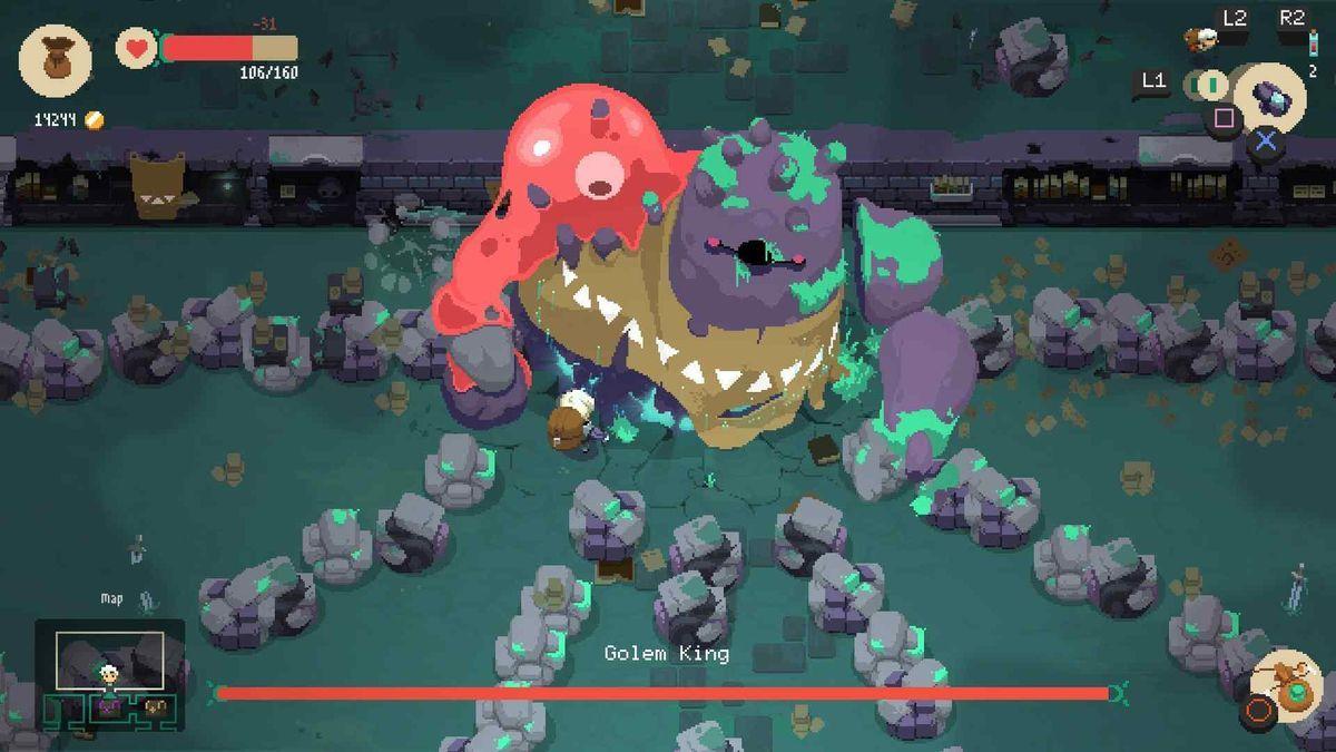 Moonlighter Is An Addictive Dungeon Crawling Town Builder Pixel Art Games Pixel Art Best Indie Games