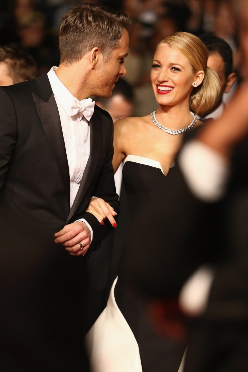 15 Photos Of Blake Lively Smiling With Her Husband Ryan Reynolds At Cannes #blakelively