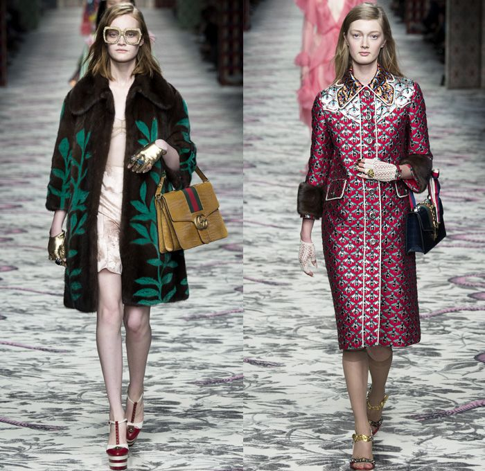Gucci 2016 spring summer womens runway catwalk looks for Fashion designer milano
