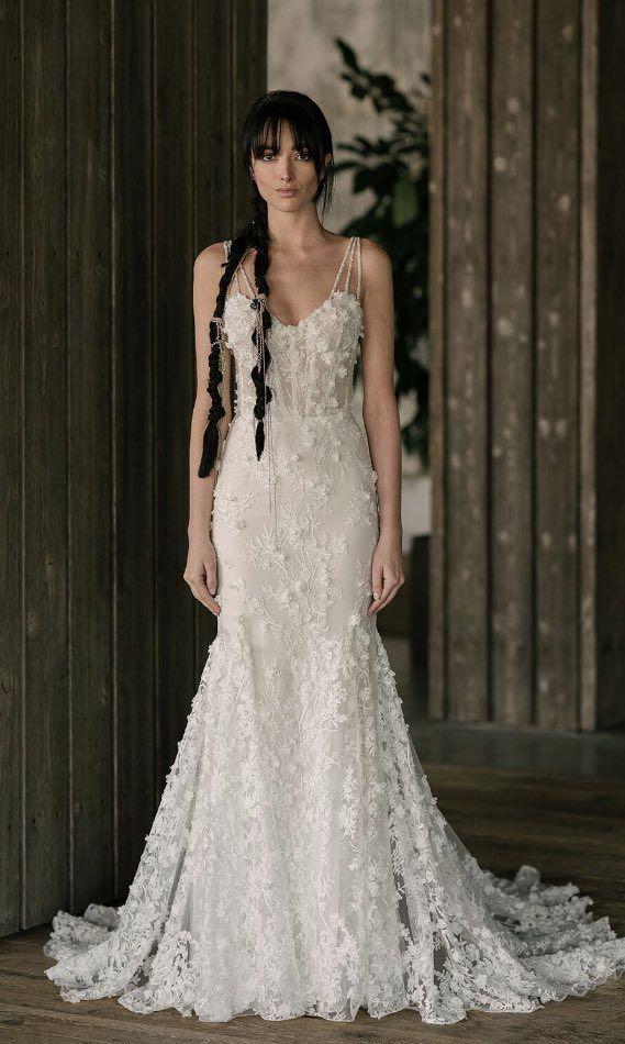 Wedding Dress Inspiration - Rita Vinieris Rivini Spring 2019 ...