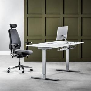 Sit Stand Height Adjustable Desk Energy Ii 1600 X 800mm Adjustable Height Desk Adjustable Desk Sit Stand Desk