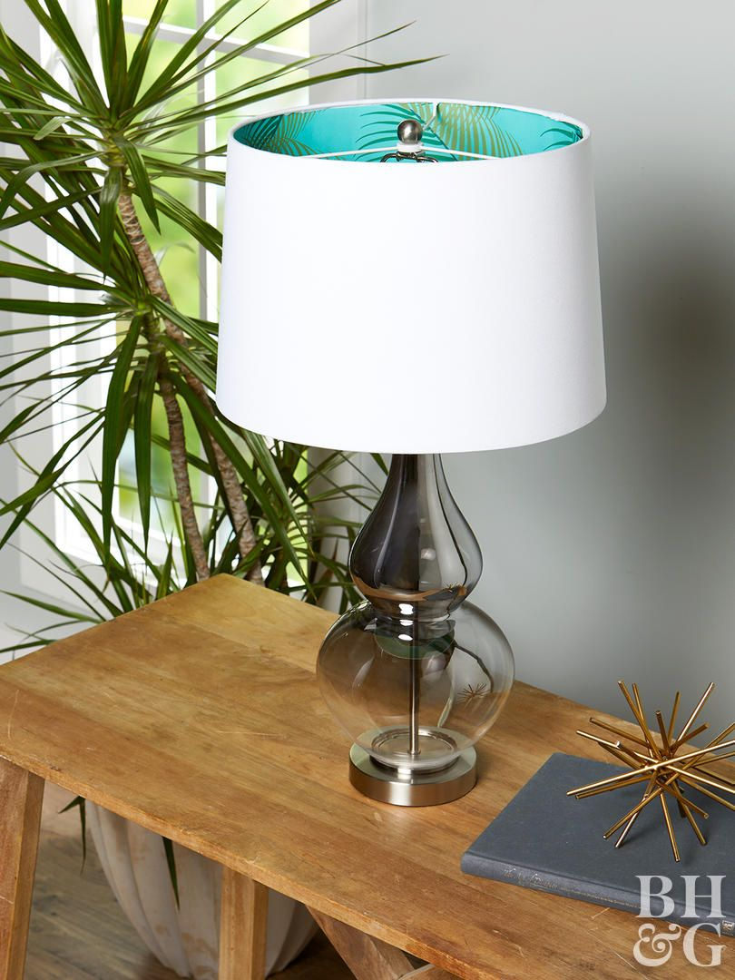 22 Creative Ways To Reinvent A Lampshade Diy Lamp Shade White Lamp Shade Painting Lamp Shades